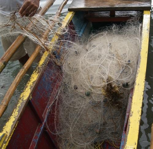 """Fishing net"" ""Retired No Way"" Oring-Oring"