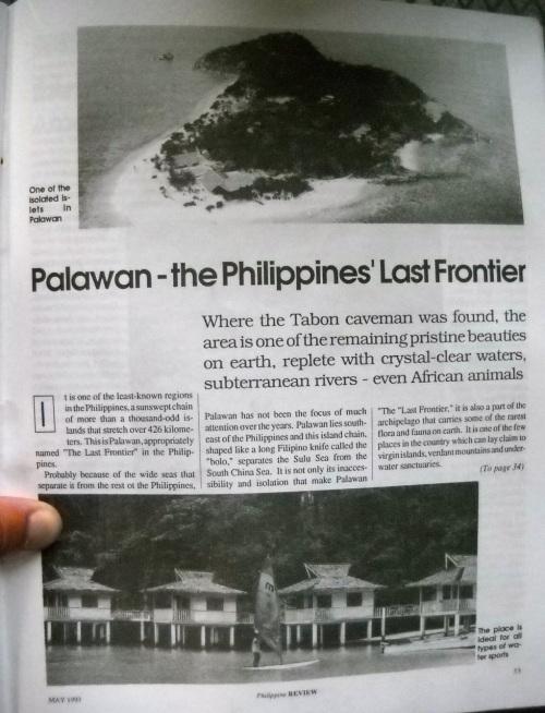 """""""Philippine Review"""" """"El Nido"""" Palawan"""