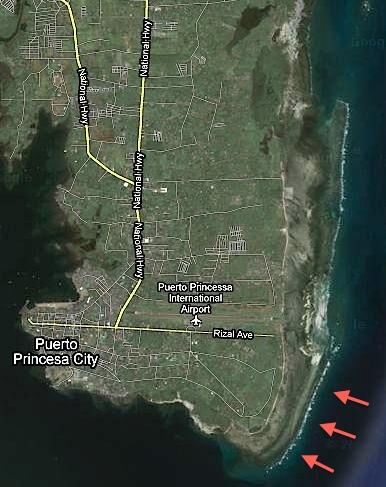 """Puerto Princesa"" Palawan ""Bancao-Bancao"" beach"
