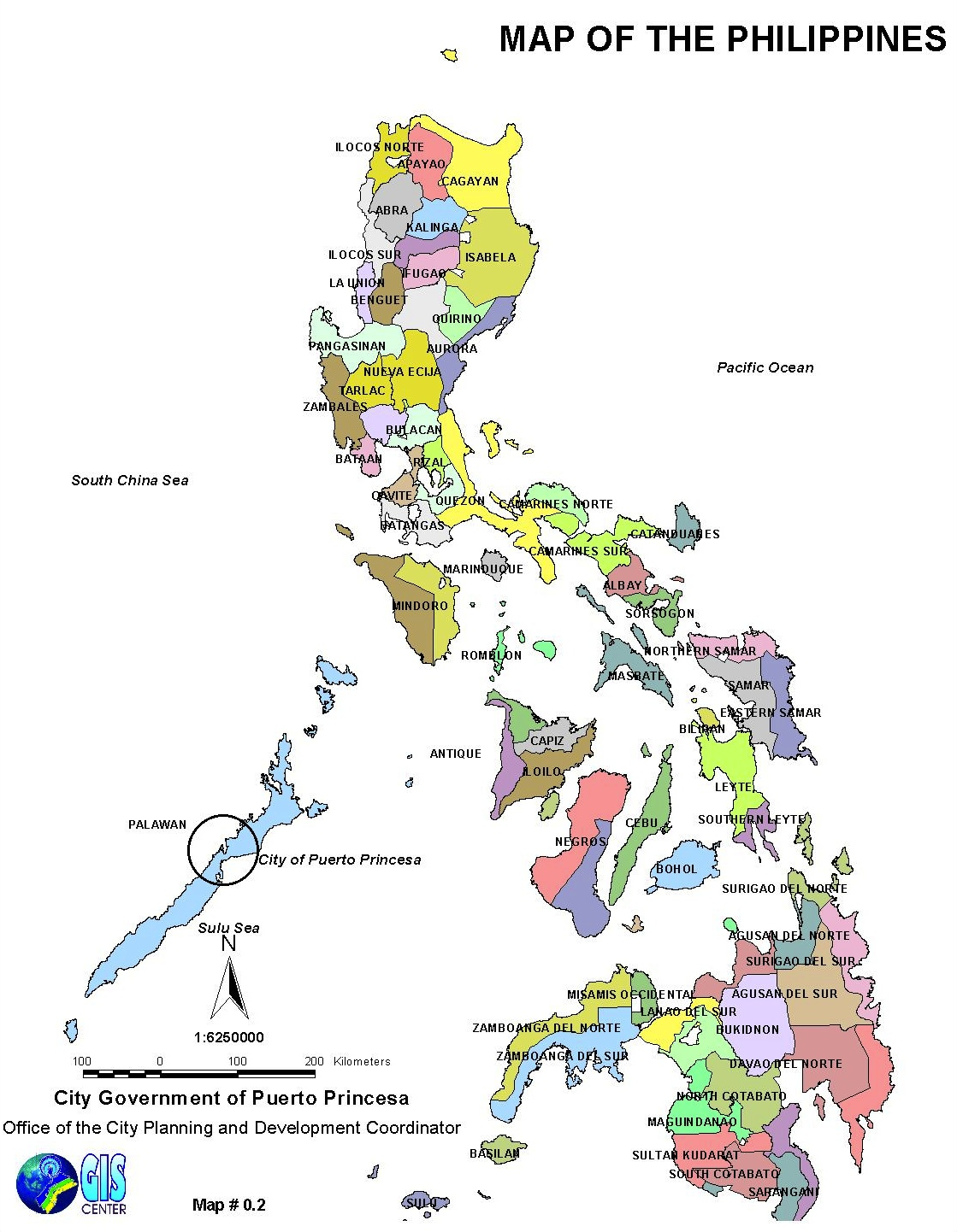 Provincial Map of the Philippines | Retired? No way!