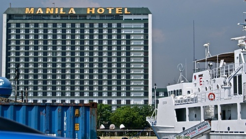 """Manila Hotel"" ""BRP EDSA"" ""Coast Guard"" ""South Harbor"" Manila"