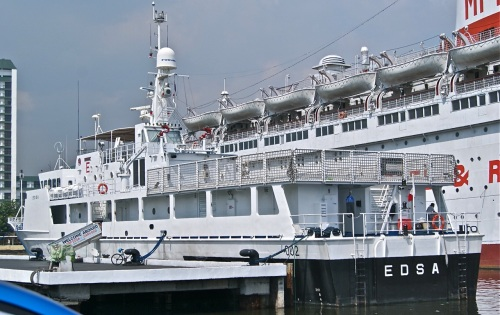 """BRP EDSA"" ""MS Manila"" ""South Harbor"" Manila MFHRI ""Philippine Coast Guard"""