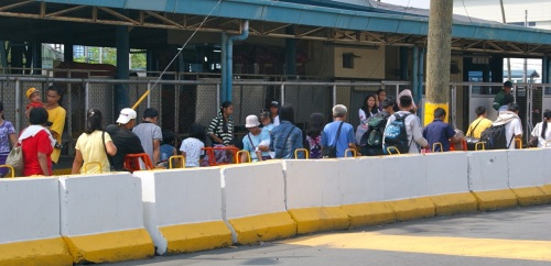"Manila SuperFerry ""Disembarking Passengers"""