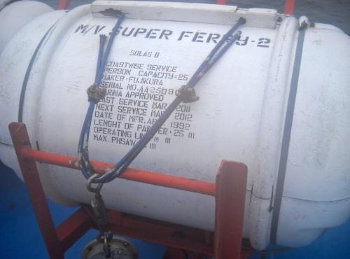 """SOLAS B"" Raft SuperFerry"