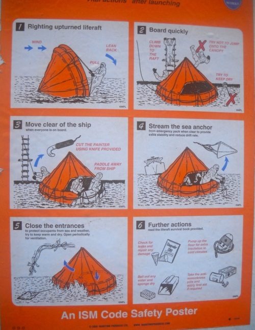 Liferaft Instructions