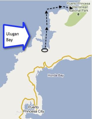 """Ulugan Bay"" Route ""Underground River"" ""Puerto Princesa"""