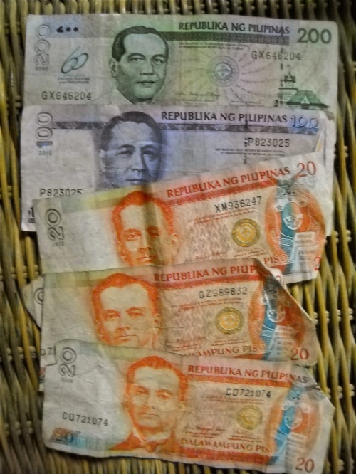 Philippine Pesos Bet Wager Payout