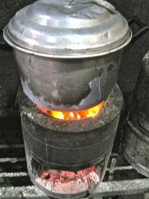 "Palawan Charcoal Stove ""Retired No Way"""