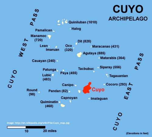 """""""Retired No Way"""" """"Cuyo Archipelago"""""""