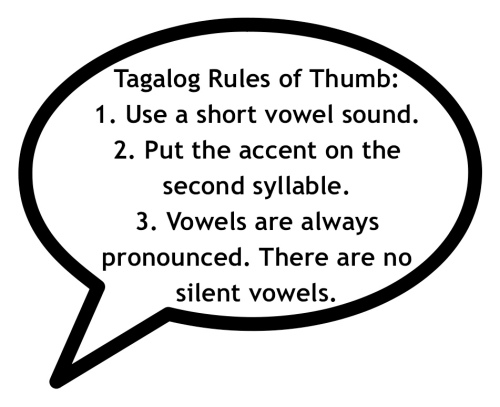 """Speech Balloon"" ""Tagalog Rules of Thumb"" ""Retired No Way"""