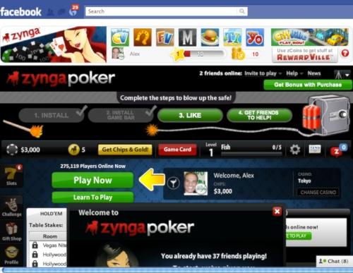 """Retired No Way"" ""Zynga Poker"" Facebook"
