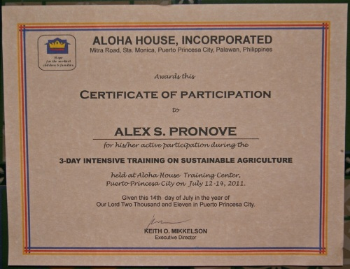 """Certificate of Participation"" retirednoway"