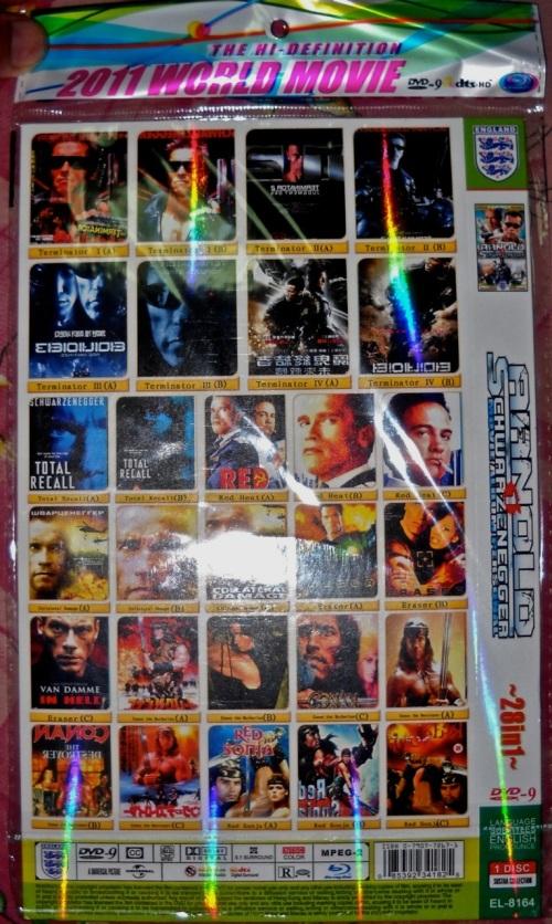 """Twenty eight movies pirated on one DVD"" retirednoway"