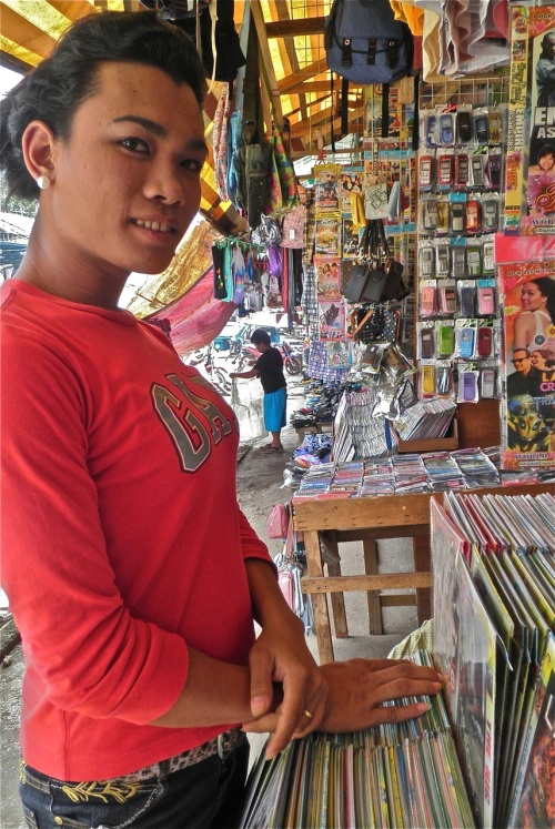 """Tuko, a gay vendor in the dry goods section of Palawan's public market"" retirednoway"