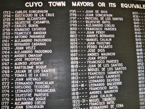 "Cuyo Mayors ""Retired No Way"""