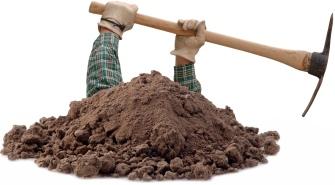 """Digging (image: independentaustralia.net)"" joke retirednoway"