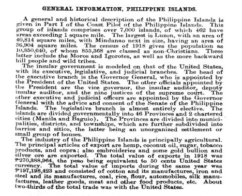 """General Descpn of the Phil Islands"" retirednoway"
