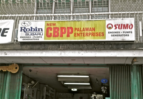 """CBPP is a large retail supplier of auto parts in Puerto Princesa City."" retirednoway"