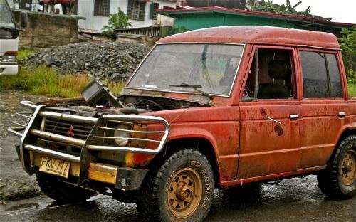 """A Mitsubishi Pajero in Palawan"" retirednoway"