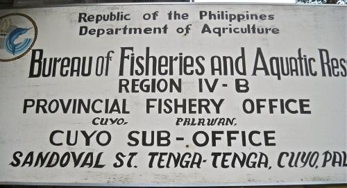 """Retired No Way"" ""Suno Buying Station"" ""Philippine Fishes"" BFAR"
