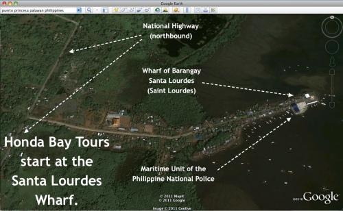 """Honda Bay using Google Earth"" retirednoway"