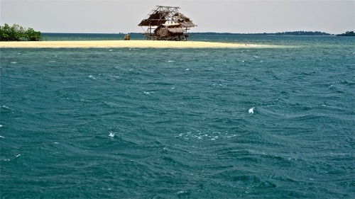 """""""Living in a shack at the end of a sandbar island."""" retirednoway"""