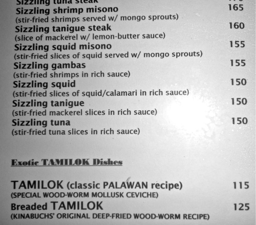 """""""Kinabuch's menu"""" retirednoway"""
