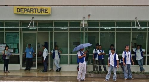 """Departure Lounge, Puerto Princesa Airport"" retirednoway"