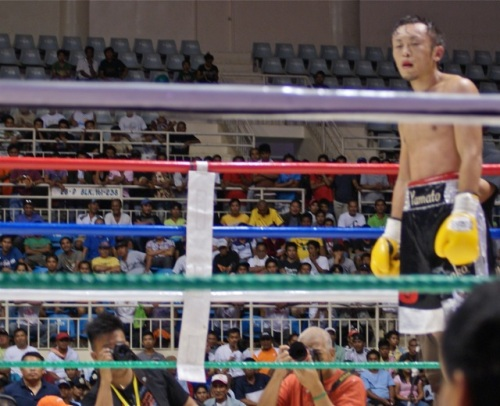 """""""The Japanese waits for his opponent to stand up."""" retirednoway"""