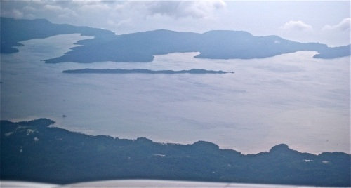 """""""Ulugan Bay (north is on the right side)."""" retirednoway"""