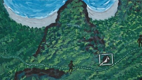 """""""Cliff halfway between Sabang and cave"""" retirednoway"""