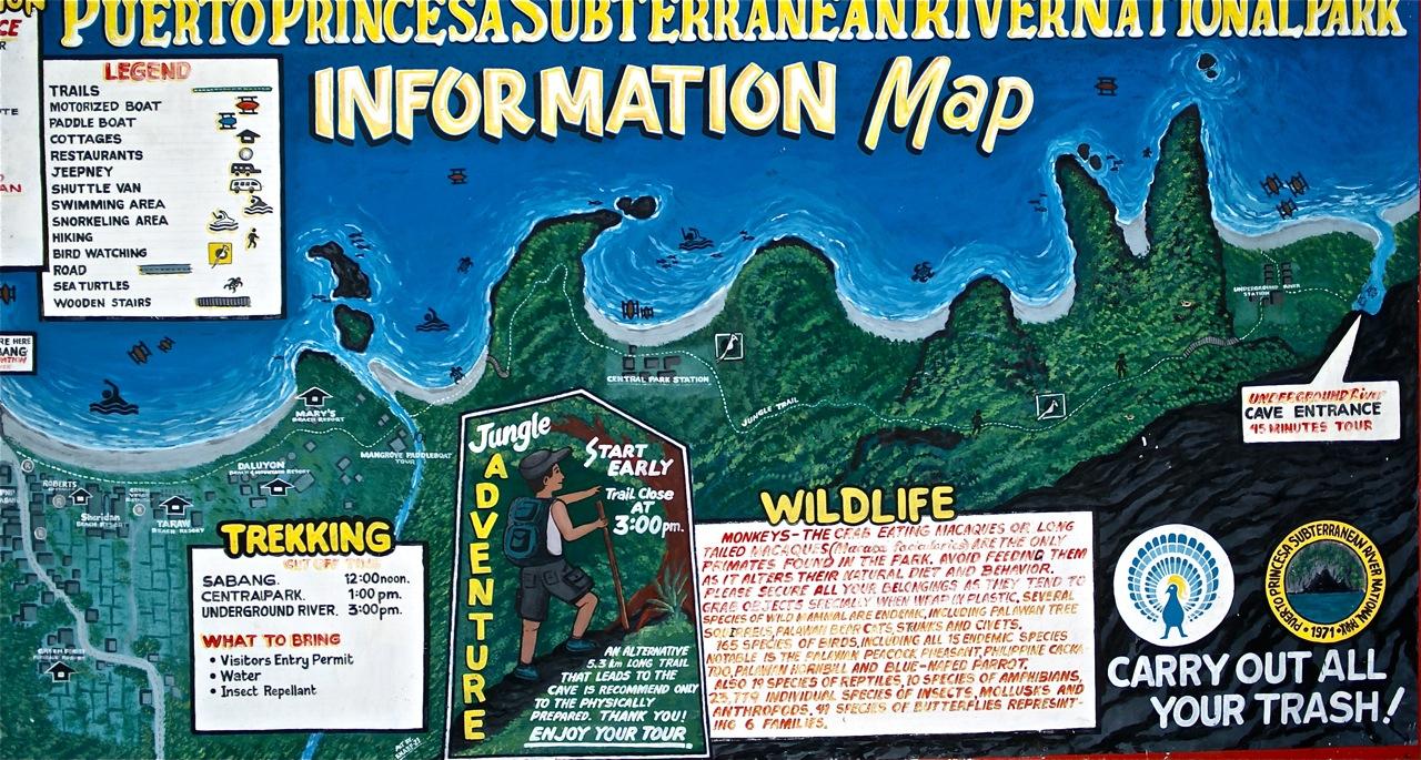 understanding the trip to underground river retired no way