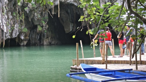 """""""Mouth of the Underground River's cave"""" retirednoway"""