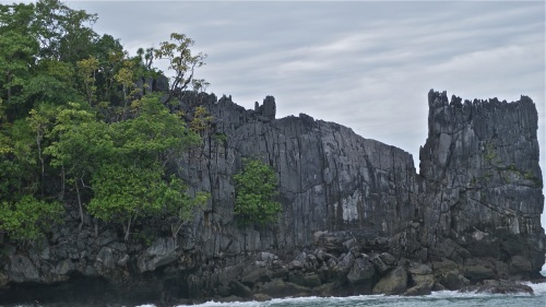"""""""One of the twin cliffs in profile"""" retirednoway"""