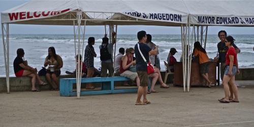 """""""Travelers waiting at Sabang's Boat Terminal"""" retirednoway"""