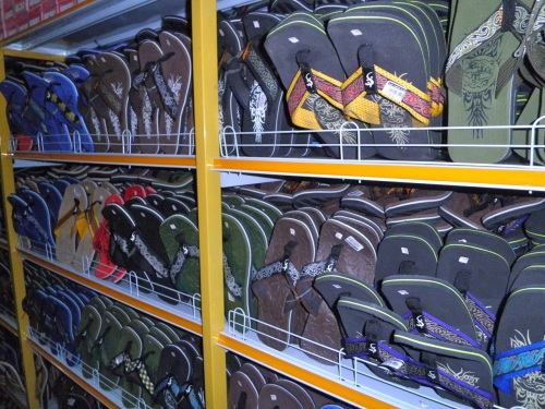 """Sandals or slippers. In Palawan, many people wear this type of footwear outside their homes."" retirednoway"