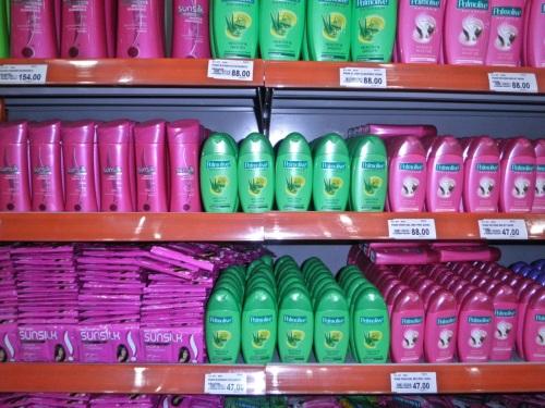 """Shampoo. Palmolive is a familiar brand."" retirednoway"