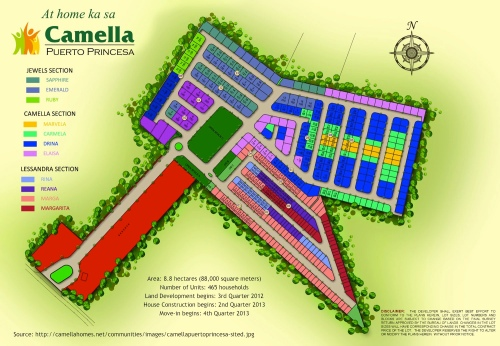 """Site Development Plan of the Camella Homes subdivision"" retirednoway"
