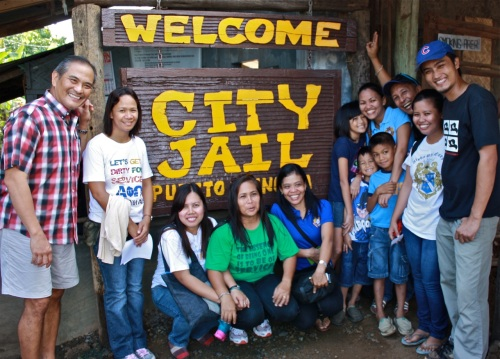 """Members of PAPOAA (the Palawan Alpha Phi Omega Alumni Association) after visiting the female inmates during International Women's Month 2012"" retirednoway"