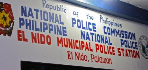 """""""El Nido Police Station"""" retirednoway"""