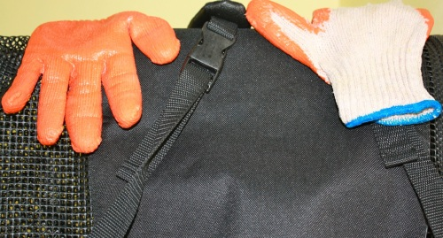 """Diving Gloves. (Not!) I found them at a True Value hardware store in Manila. They work as well as real diving gloves and, best of all, the pair only cost $1.00!"" retirednoway"