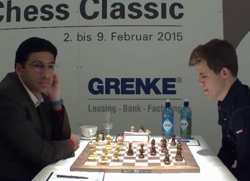 """retirednoway, """"Anand - Carlsen, 0 - 1, Grenke Chess Classic 2015, Baden-Baden, Germany"""""""
