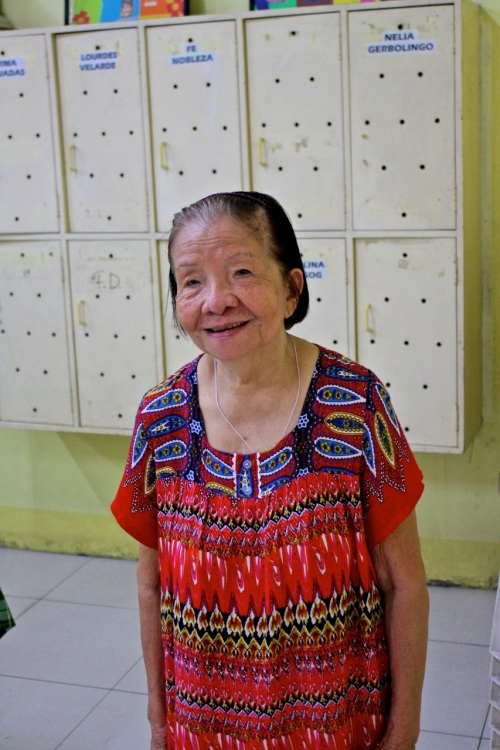 A Vietnamese refugee who arrived in the Philippines in the 1970s after the fall of Vietnam.