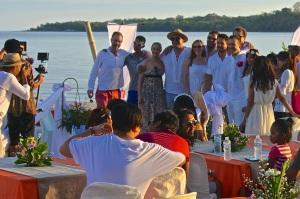 Wedding on Valentine's Day at Pandan Island Resort, Mindoro Occidental11