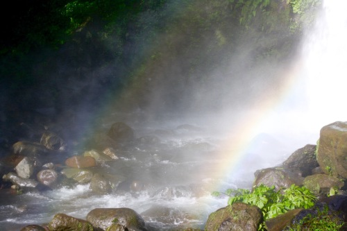 Rainbow and spray at Ulan-Ulan Falls, Almeria, Biliran Island - 44.jpg