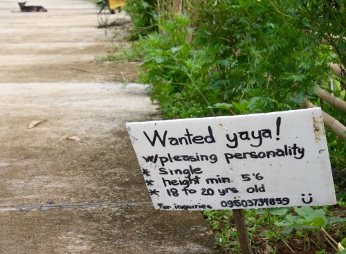 Wtf, hahaha, this out-of-place sign was a gag on our way to Ulan-Ulan Falls, Almeria, Biliran Island - 18.jpg